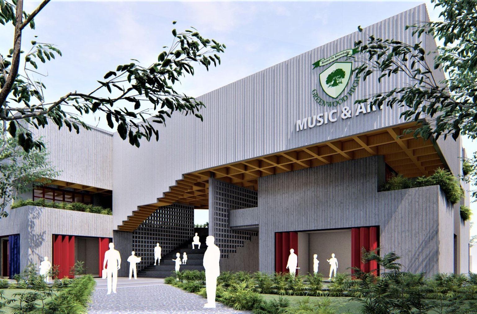 GREENWOOD HIGH SCHOOL - Art Block